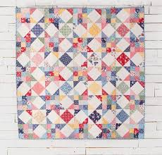 68 best Star Quilts images on Pinterest | Backdrops, Fabrics and ... & Scrappy Star Quilt Kit by May Chappell featuring Boundless 1930's Delights  Fabric Adamdwight.com