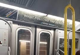Gemini Subway Advertisement Exchange Nyc Cryptocurrency