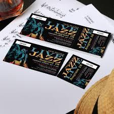 Event Tickets Custom Ticket Printing Uprinting