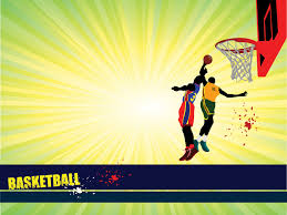 Basketball Powerpoint Template Sports Basketball Powerpoint Templates Blue Red Sports Yellow
