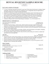 Dental Hygienist Resumes Unique Dental Hygienist Resume Lovely Dental Hygiene Resumes Lordvampyrnet