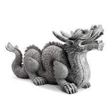 dragon garden statues outdoor decor