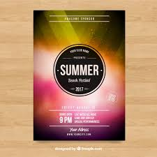 free dance flyer templates party poster design vector free dance flyer template dni america