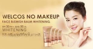 ผลการค นหาร ปภาพสำหร บ welcos no makeup face blemish balm spf30 pa whitening 50ml