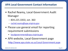Apa Local Government Update Ppt Download
