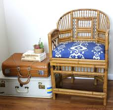 how to make bamboo furniture. Bamboo Chair Makeover Refresh - And How To Make A New Seat For Chair. Furniture