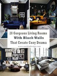 Black trigg ceramic planter wall decor $25 trigg wall vessels are an exciting way to keep small indoor plants or other items, such as pens, pencils or even makeup accessories, on display and close at hand. 28 Gorgeous Living Rooms With Black Walls That Create Cozy Drama