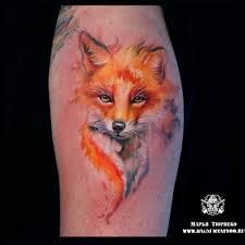 мастер татуировки марья тюрпеко акварель тату акварельная тату