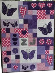 Scrappy Butterfly Baby Quilt | Radosti | Pinterest | Quilt, A ... & Scrappy Butterfly Baby Quilt | Radosti | Pinterest | Quilt, A butterfly and  Babies Adamdwight.com