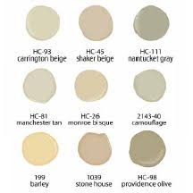 Captivating BM Interior Palette Paint Colors That Sell