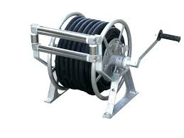 surprising garden hose reel reviews innovative wall mounted garden hose reel