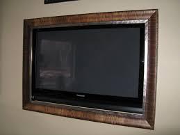 flat screen tv picture frame tv frames traditional basement salt lake city smart touch