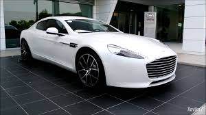 Pearl White Aston Martin Rapide S  Loud Startup  Accelerations Combo  Review YouTube