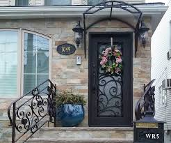 wrought iron front doorsWrought Iron Entry Doors