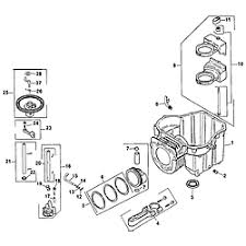 kohler engine parts model sv5900004 sears partsdirect crankcase