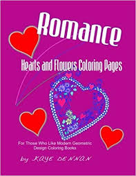 Amazoncom Romance Hearts And Flowers Coloring Pages For Those