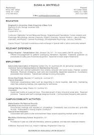Resume Template For High School Student Examples Of Good Resumes
