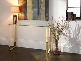 gold glass console table gold console table glass nightingale black gold glass console table