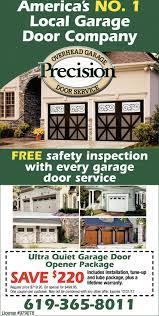 America's NO.1 Local Garage Door Company, Precision Overhead Garage ...
