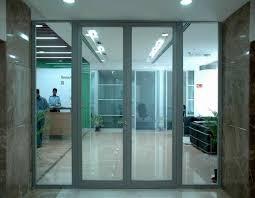 perfect 19 fireproof glass door example