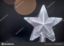 Weihnachtsstern Aus Metall Wit Ein Herausplatzen Kalte Blaue