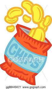 bag of potato chips clipart. Contemporary Clipart Bag Of Potato Chips With Of Clipart A