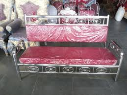 steel sofa at rs 5500 piece