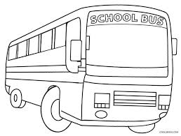 Small Picture Coloring Pages Printable School Bus Coloring Page For Kids