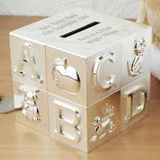 personalised baby s money box
