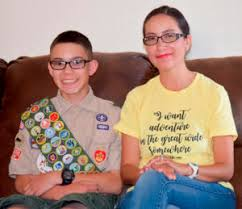Scout supports shelter that helped his mom 12 years ago » Albuquerque  Journal