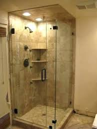 small corner shower ideas bathroom corner shower source a seamless shower doors small corner shower kits