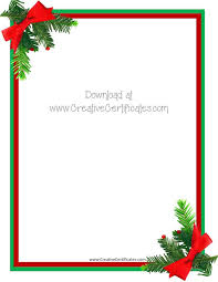 Word Border Templates Free Christmas Letter Border Templates Free 29742517000022 Free