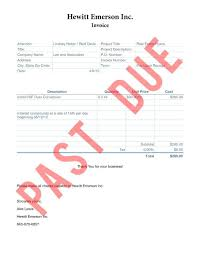 Yam Past Due Invoice Template Id145353 Opendata