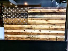 wall homely ideas rustic american flag wall art wood wooden metal hand crafted by o e