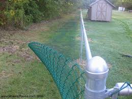 how to paint over a galvanized chain link fence fences view larger