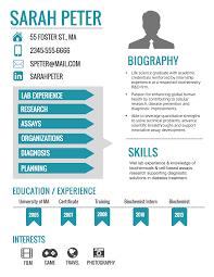 Graphic Resume How To Make An Infographic Updated Venngage Sarah