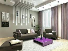 modern ceiling ideas for living room simple false design