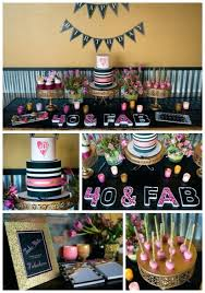 40th Birthday Ideas Glam Forty Party Restaurant London Gift For
