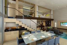 Futuristic Living Room Amazing Modern Open Living Dining Room Of Most Beautiful Interior