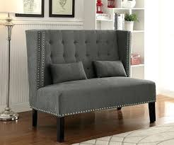 High Back Loveseat For Sale Wingback Bench91