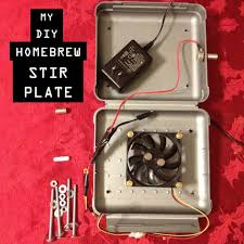 how to make a diy homebrew stir plate for beer yeast starters simple and easy