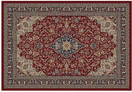 scroll rug diamond blue tile pottery barn mocha