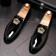 New men's pointed shoes <b>fashion</b> set foot peas shoes <b>Korean</b> ...