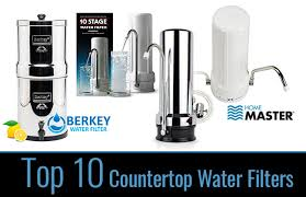 top 10 best countertop water filters of 2017