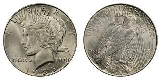 1935 Silver Half Dollar Value Chart 1935 S Peace Silver Dollar Coin Value Prices Photos Info