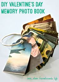 how to make a diy photo memory keychain book for valentine s day with the fiskars label maker on dear handmade life