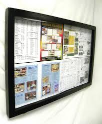 Display Board Design Online Bulletin Board With An Acrylic Hinged Door