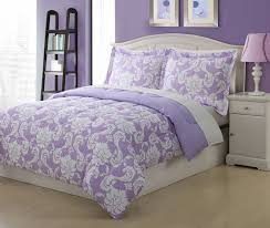 white and purple comforter sets bedroom interior design 8