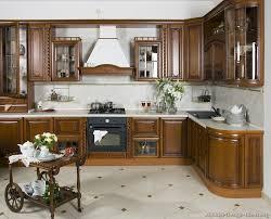 italian kitchen ideas kitchen cabinets traditional dark wood golden brown 001a s3946174 island cart wood hood