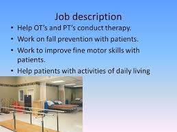 Occupational Therapy Internship - Ppt Download